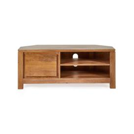image-Harlam Corner TV Stand Brown