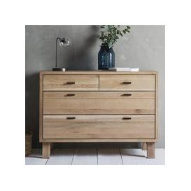 image-Hudson Living Kielder Scandi 4 Drawer Chest