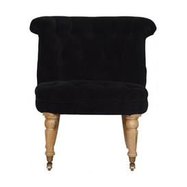 image-Bourneville Tub Chair ClassicLiving Upholstery Colour: Black