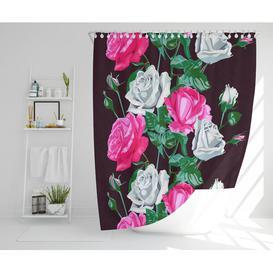 image-Bramfield Polyester Shower Curtain Set Rosalind Wheeler Size: 177cm H x 177cm W