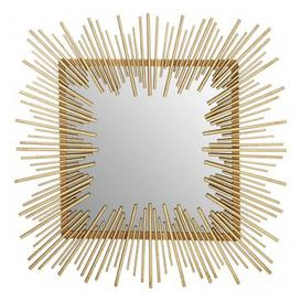 image-Sarnia Sunburst Design Wall Bedroom Mirror In Rich Gold Frame