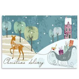 image-Christmas Delivery' by Advocate Art Graphic Art Americanflat