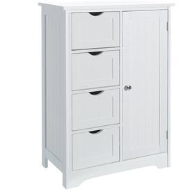 image-Bradly 55 x 81cm Free Standing Bathroom Cabinet Brambly Cottage