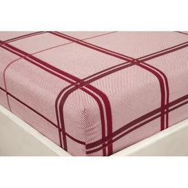 image-Alemany 198 Thread Count Jersey Fitted Sheet August Grove Size: Single (3')