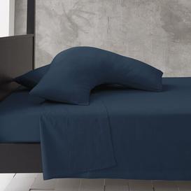 image-Priscilla V-Shape Pillowcase Zipcode Design Colour: Petrol
