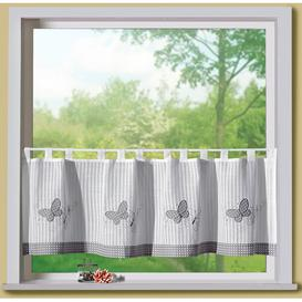 image-Felton Tab Top Semi-Sheer Single Curtain Brambly Cottage