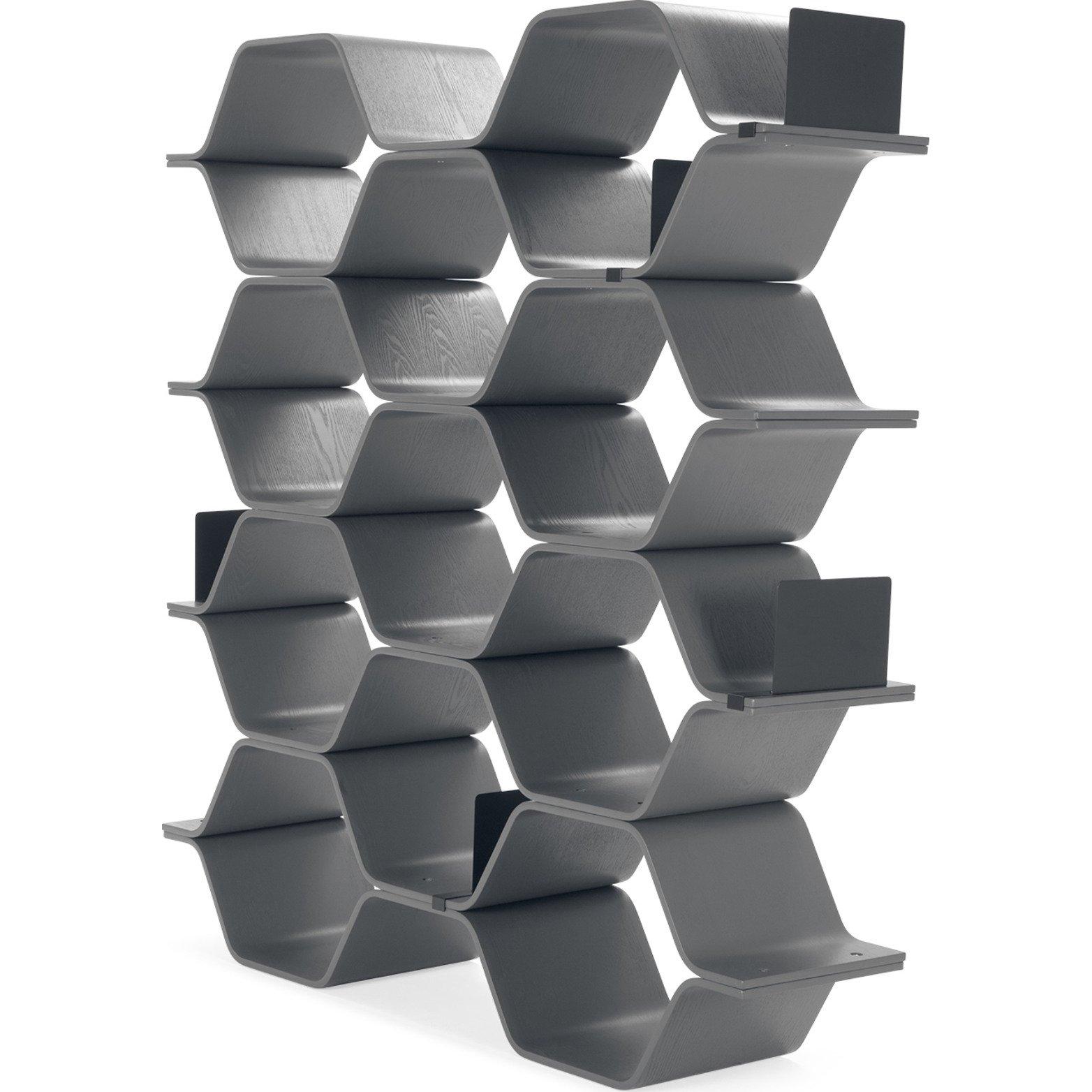 image-Polygon Shelving Unit, Grey