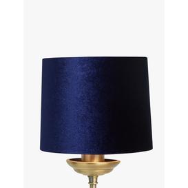 image-John Lewis & Partners Jenny Velvet Candle Lampshade