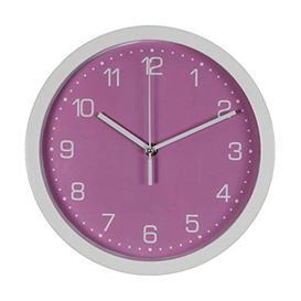image-Just 4 Kids Wall Clock - Pink Arabic Dial