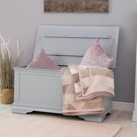 image-Florence Grey Painted Blanket Box