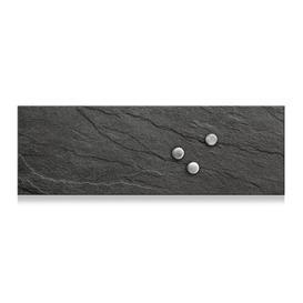 image-Slate Magnetic Memo Board Zeller Size: 25cm H x 75cm W x 2cm D
