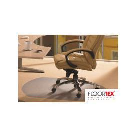 image-Cleartex Advantagemat PVC Contoured Chair Mat For Low Pile Carpets