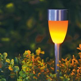 image-Bright Garden Solar Powered Flickering Path Light