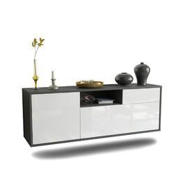 image-Beamen TV Stand Ebern Designs Colour: High Gloss White
