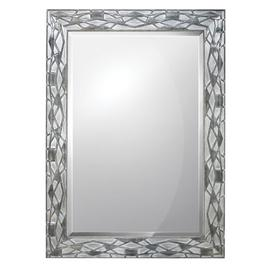 image-Rectangle Mirror Fairmont Park Finish: Silver, Size: 91.4 cm H x 66 cm W