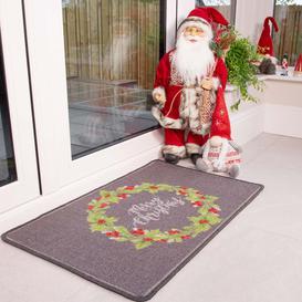image-Christmas Wreath Decoration Mat - Luna