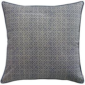 image-Carnmore Cotton Cushion Cover Corrigan Studio Colour: Cobalt