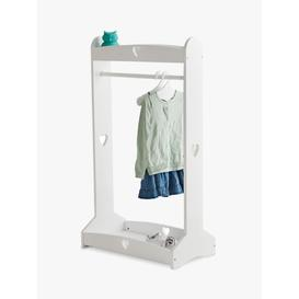 image-Great Little Trading Co Sweetheart Clothes Rail, White