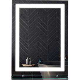 image-Bober Fog Free Bathroom/Vanity Mirror Wade Logan