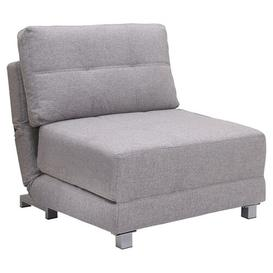 "image-""Danise 1 Seater Futon Chair Brayden Studio Colour: Versatile Peppered Grey Fabric"""