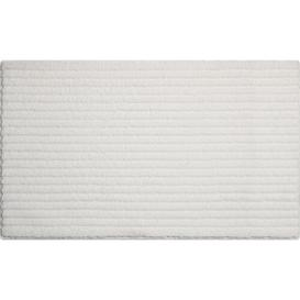 image-Rimmer Bath Mat Mercury Row Size: 60 x 100cm, Colour: White