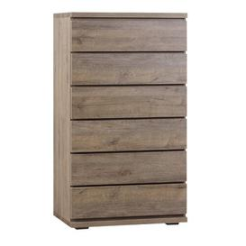 image-Skandi 6 Drawer Chest Ebern Designs