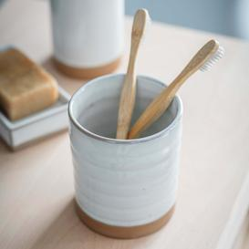 image-Ceramic Toothbrush Holder