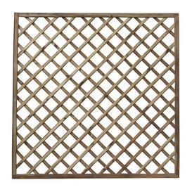 image-6' x 6' (1.8m x 1.8m) Trellis Fence Panel (Set of 3) Sol 72 Outdoor