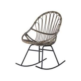 image-Hill Interiors Bali Rattan Rocking Chair