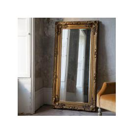 image-Carved Louis Leaner Mirror Gold