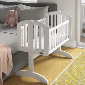 image-Sophie Swinging Crib with Mattress Obaby