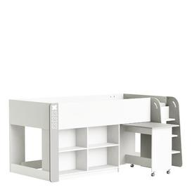 image-Patton Single Mid Sleeper Cabin Bed with Desk Isabelle & Max