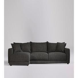 image-Swoon Aurora Left Corner Sofa in Slate House Weave