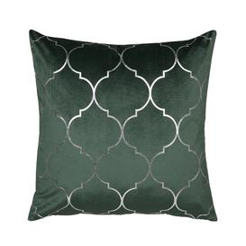 image-Charlemont Cushion with Filling Canora Grey Colour: Green