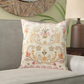 image-Gabriella Cushion with filling Bloomsbury Market Size: 44 x 44cm