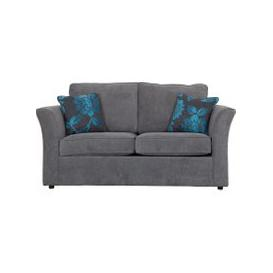 image-Buoyant Newry Sofa Bed, 2 Seater Sofa Bed with Standard Mattress, Avalon Black, Waffle Mink