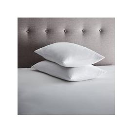 image-Fogarty Pair of Eucalyptus Scented Pillow Protectors White
