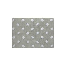 image-Lorena Canals Small Stars Kids Washable Rug - Soft Blue
