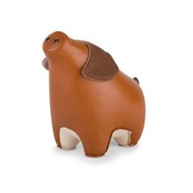 image-Pig Diya Animal Bookend by Zuny