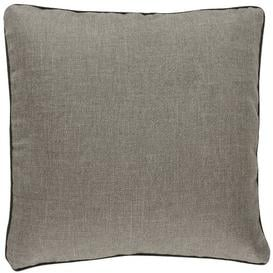 image-Barbara Pillow Cover BARBARA Home Collection Colour: Grey