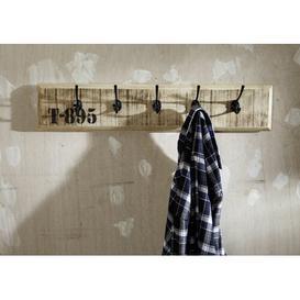 image-Factory Wall Mounted Coat Rack Massivmoebel24