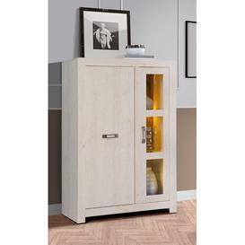 image-Danial Display Cabinet Mercury Row