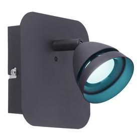 image-Swing Arm Wall Light WiZ Smart Lighting Colour: Black