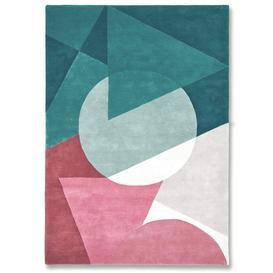 image-La Coupeé Teal Rug - 200 x 300 cm / Teal / Wool