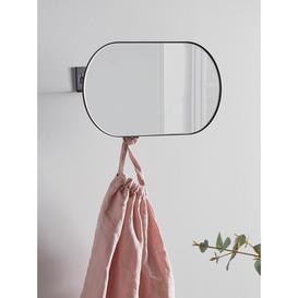 image-NEW Oval Mirror Coat Rack