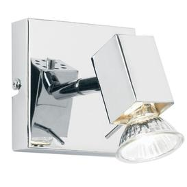 image-Endon EL-10049 1 Light Chrome Wall Bracket Spot Light