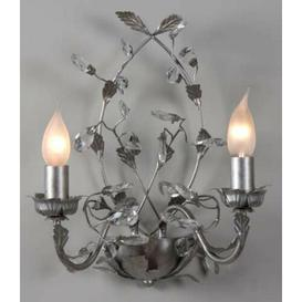 image-Glasscock 2-Light Candle Wall Light Fleur De Lis Living