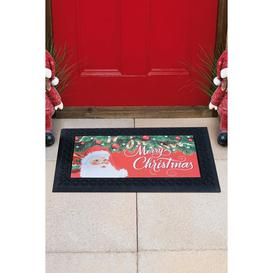image-Christmas Light-Up and Sound Doormat