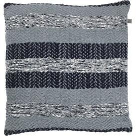 image-Greco Cotton Cushion Bloomsbury Market Colour: Blue