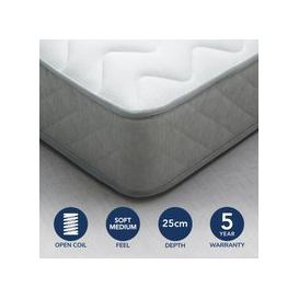 image-Fogarty Bamboo Anti Allergy Open Coil Mattress White